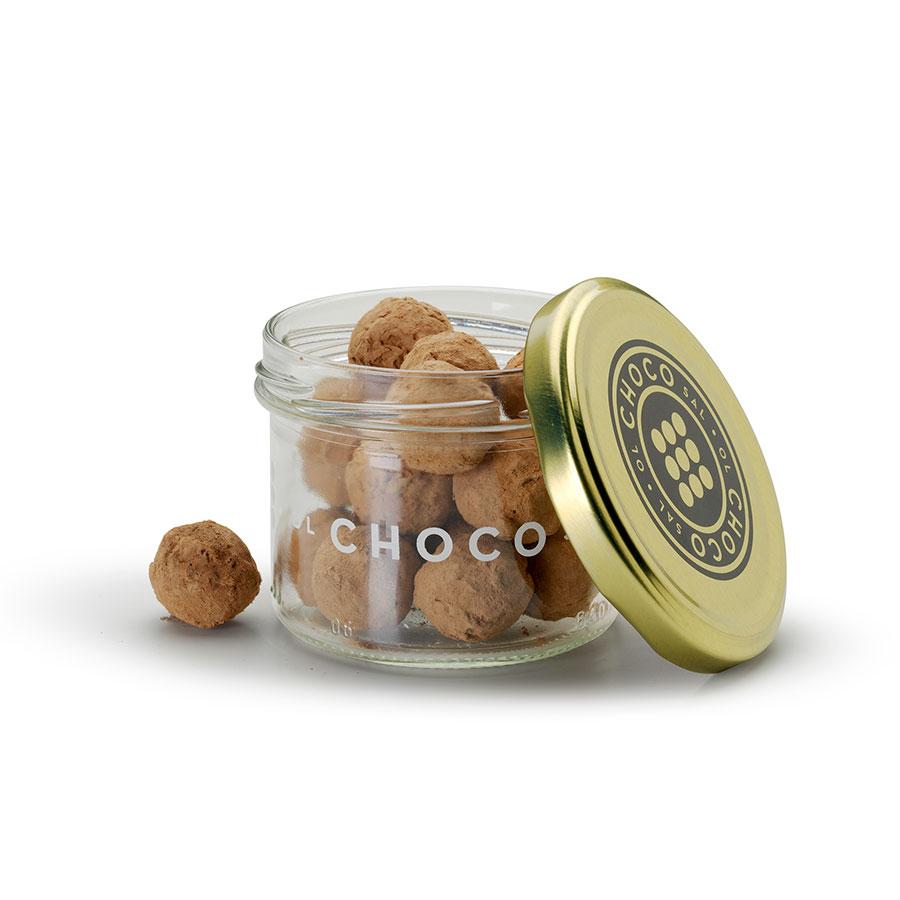 Bombones de chocolate Olchocosal